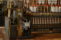 Old Spinning machines Stock Image