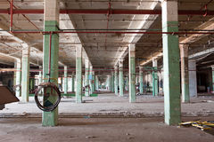 The old spinning mill Royalty Free Stock Images