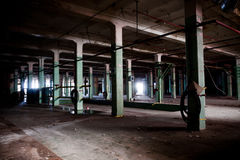 The old spinning mill Royalty Free Stock Photos
