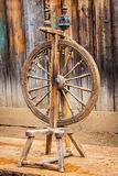 Old spinning wheel Stock Image