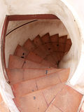 Old Spiral stair Royalty Free Stock Photo