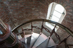 Old spiral staircase Stock Image