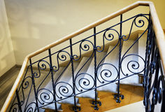 Old spiral staircase Stock Photography