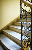 Old spiral staircase Stock Images