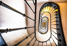 Old spiral staircase Stock Photos