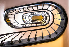 Old spiral staircase Royalty Free Stock Images