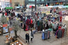 Old Spitalfields Market Royalty Free Stock Photography