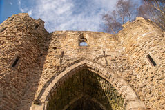 Old Spooky looking Castle Royalty Free Stock Photo