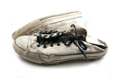 Old sport shoes  Stock Photo
