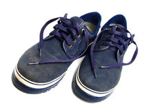 Old sports footwear Royalty Free Stock Photo