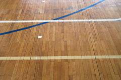 Old sports hall. Floor Royalty Free Stock Photo