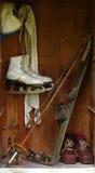 Old sports locker Stock Image