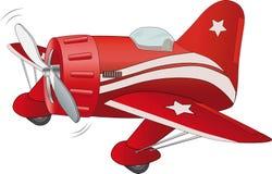 Old sports plane Stock Photo