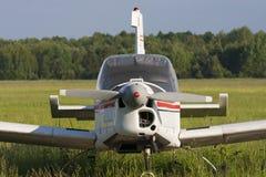 Old sports plane Stock Photos