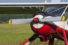 Old sports plane Royalty Free Stock Photos