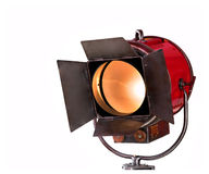 Old spotlight. Stock Photos