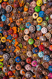 Old spray cans Royalty Free Stock Image
