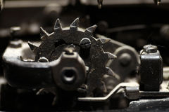 Old sprocket detail Stock Photography