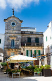 Old square in Apulia, Italy Stock Photography