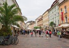 old square Carinthia Klagenfurt australites στοκ φωτογραφίες