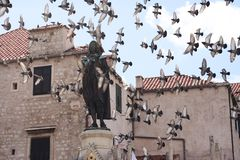 Free Old Square In Dubrovnik Royalty Free Stock Image - 5586106