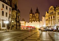 Old Square In Prague Royalty Free Stock Images