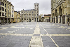 Old Square leon Stock Photography