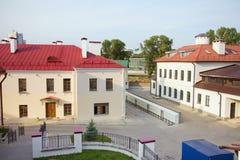 Old square in Minsk, Belarus Stock Images