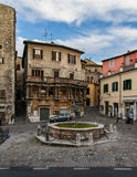 The old square in Narni Royalty Free Stock Photo