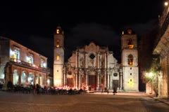 Old square, plaza vieja, in havana royalty free stock image