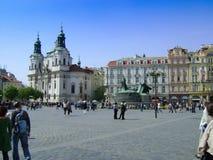 Old Square in Prague Stock Image