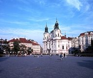 The Old Square, Prague. Royalty Free Stock Photos