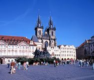 The Old Square, Prague. Stock Photos