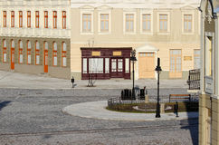 Old square replica. Replica of old terazije square in Belgrade,Serbia Royalty Free Stock Image
