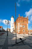Old Square Sandomierz. Poland Stock Photography