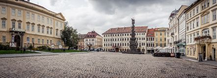 Old square at Teplice royalty free stock photos