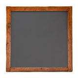 Old Square Wooden Blackboard C Royalty Free Stock Photography