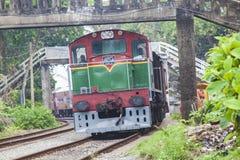 Old srilankan train Royalty Free Stock Photo
