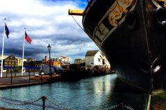 Old. SS Great Britain at the Dock Royalty Free Stock Images
