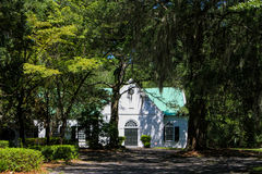 Old St. Andrew's Parish Church, Charleston, SC. Stock Images