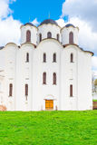 Old St. Nicholas Cathedral in Veliky Novgorod Royalty Free Stock Photo