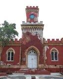 Old St Thomas Castle Isolated on White Stock Photo