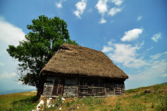 Old stable. In Apuseni Mountains, Romania Stock Images