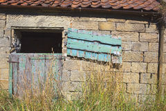 Old stable door Royalty Free Stock Photo