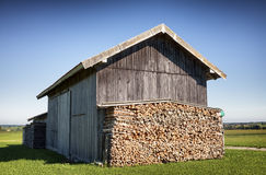 Old stable Stock Photos