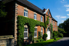 Old Stables. At Ingestre Hall on a sunny day Royalty Free Stock Photos