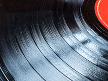 Old Stacked Vinyl Records with white background Royalty Free Stock Photography
