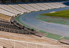 Old stadium in Barcelona Royalty Free Stock Photography