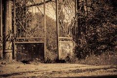 Old Stadium Gate Retro Royalty Free Stock Image