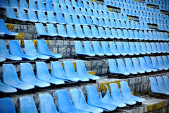 Old stadium tribune Royalty Free Stock Photography